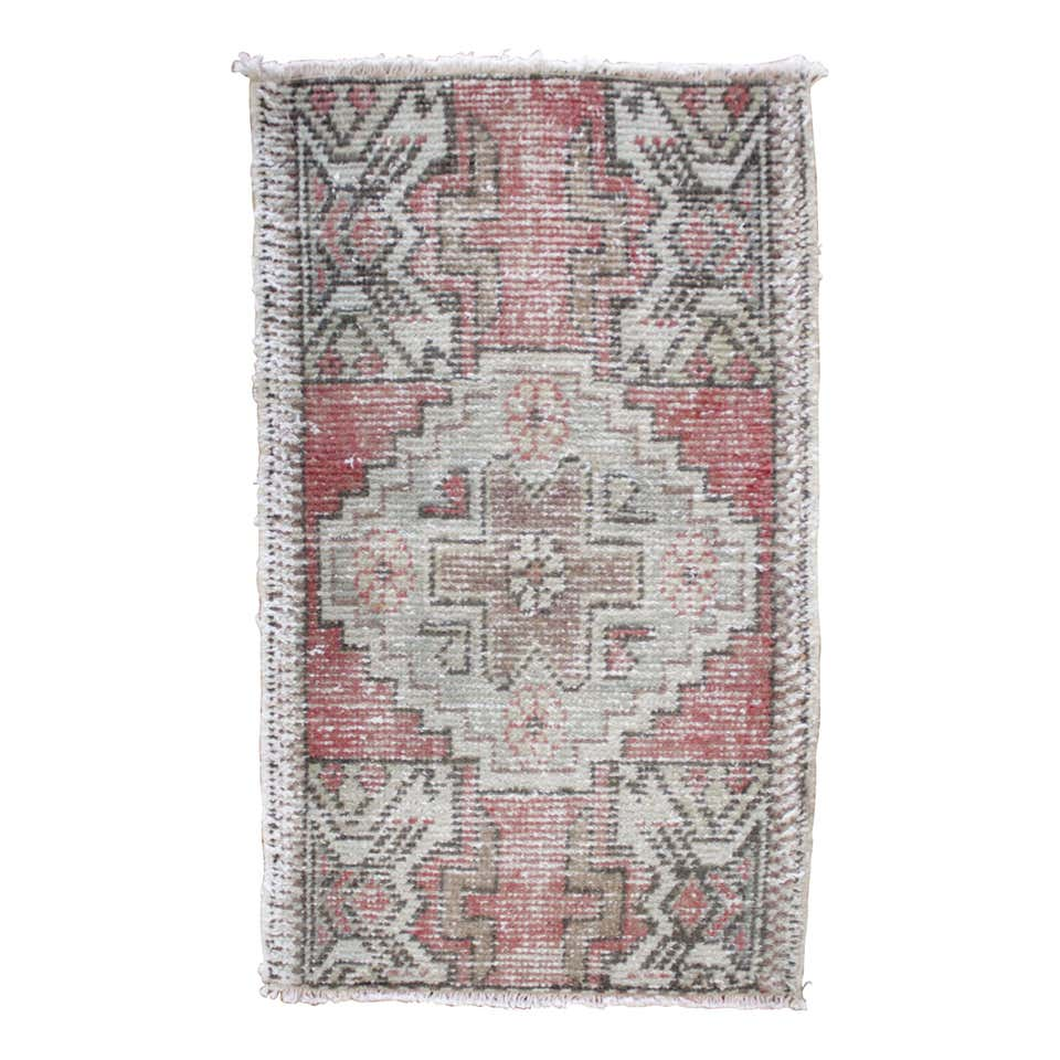 Lirik Vintage Turkish Wool Rug