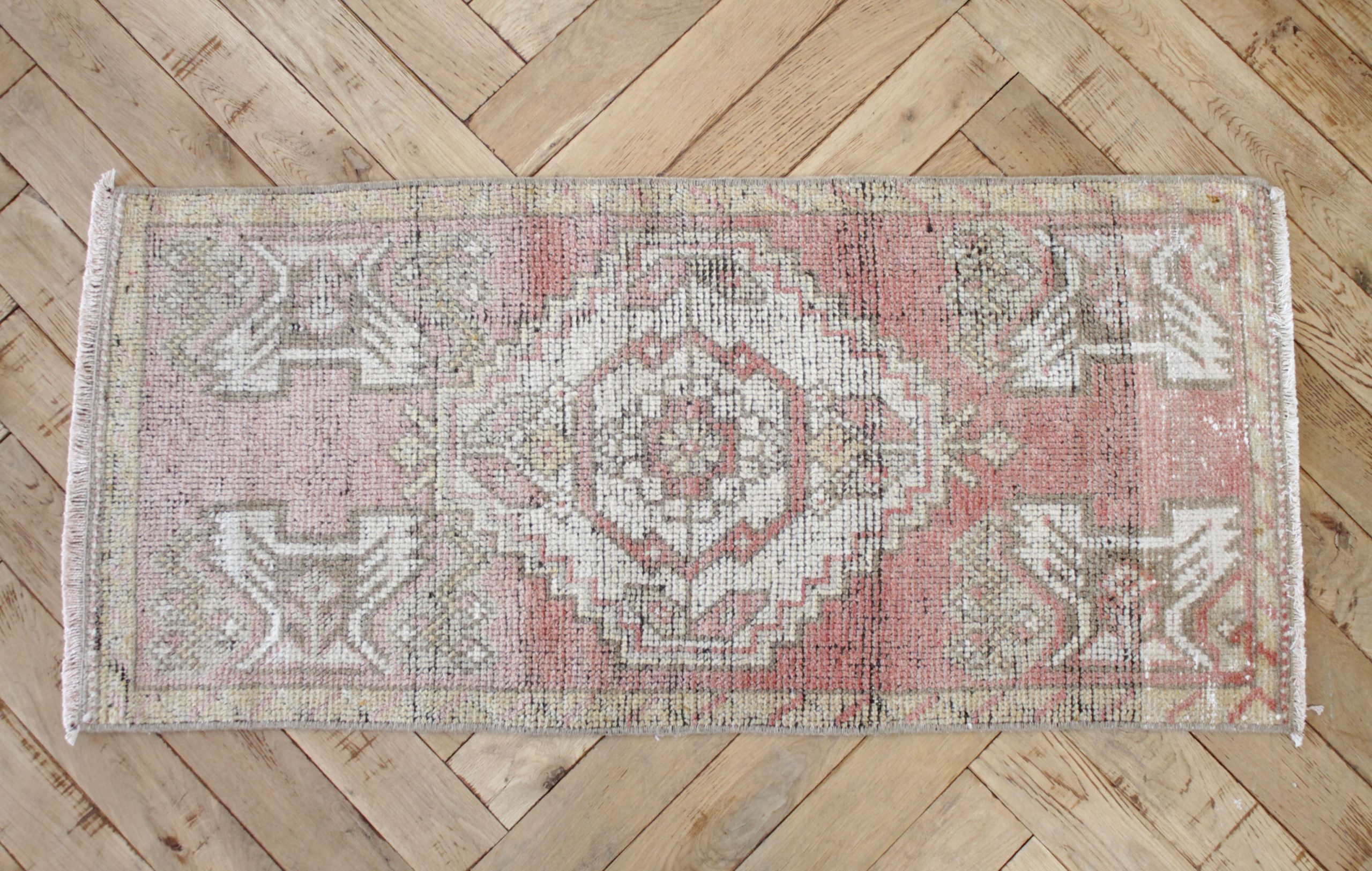 Rina Vintage Turkish Wool Rug