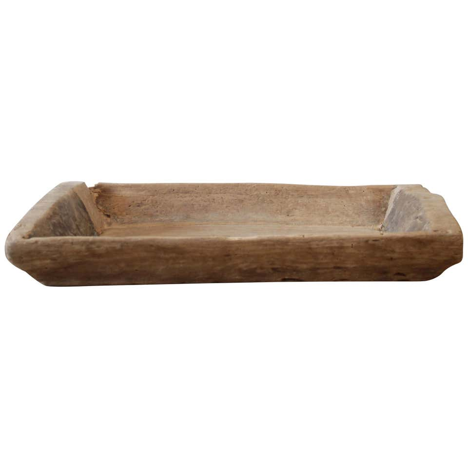 Antique Primitive Wood Trough