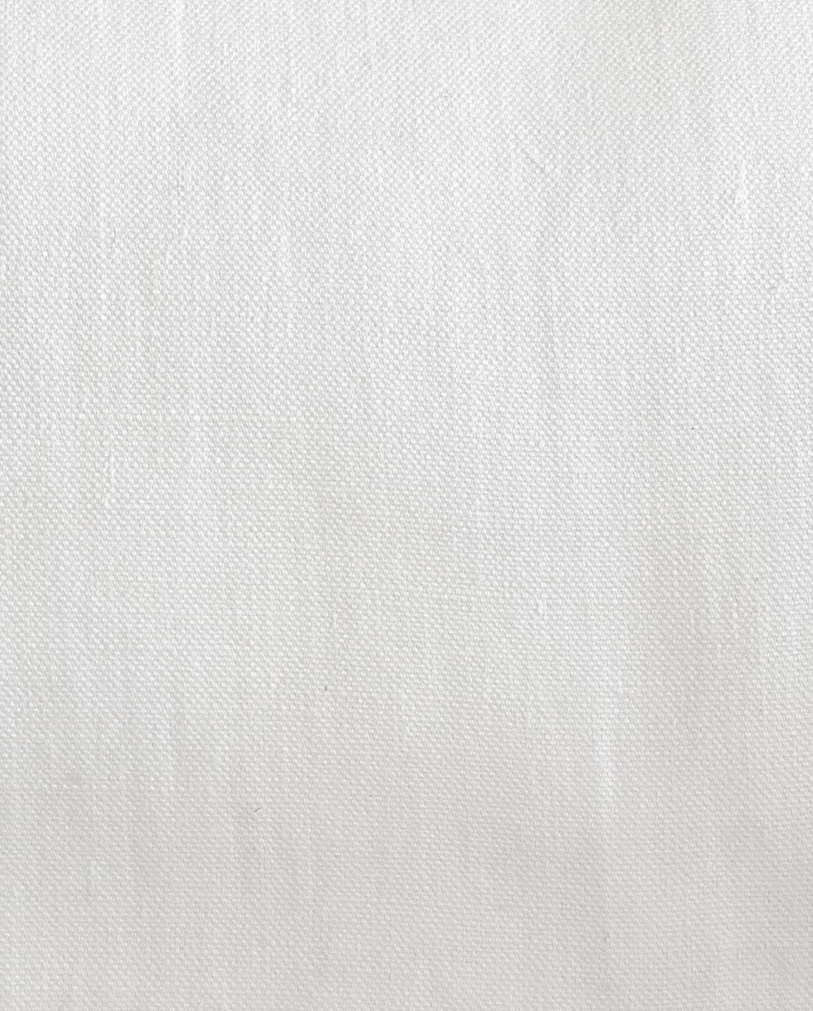 No.15 Irish Linen in White