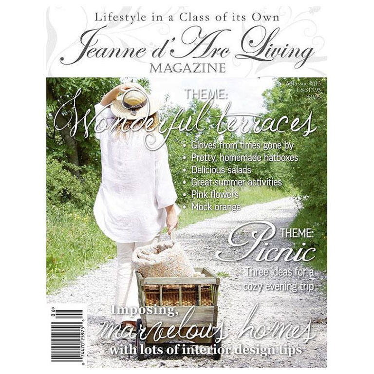 Jeanne D' Arc Living Magazine 6th Edition