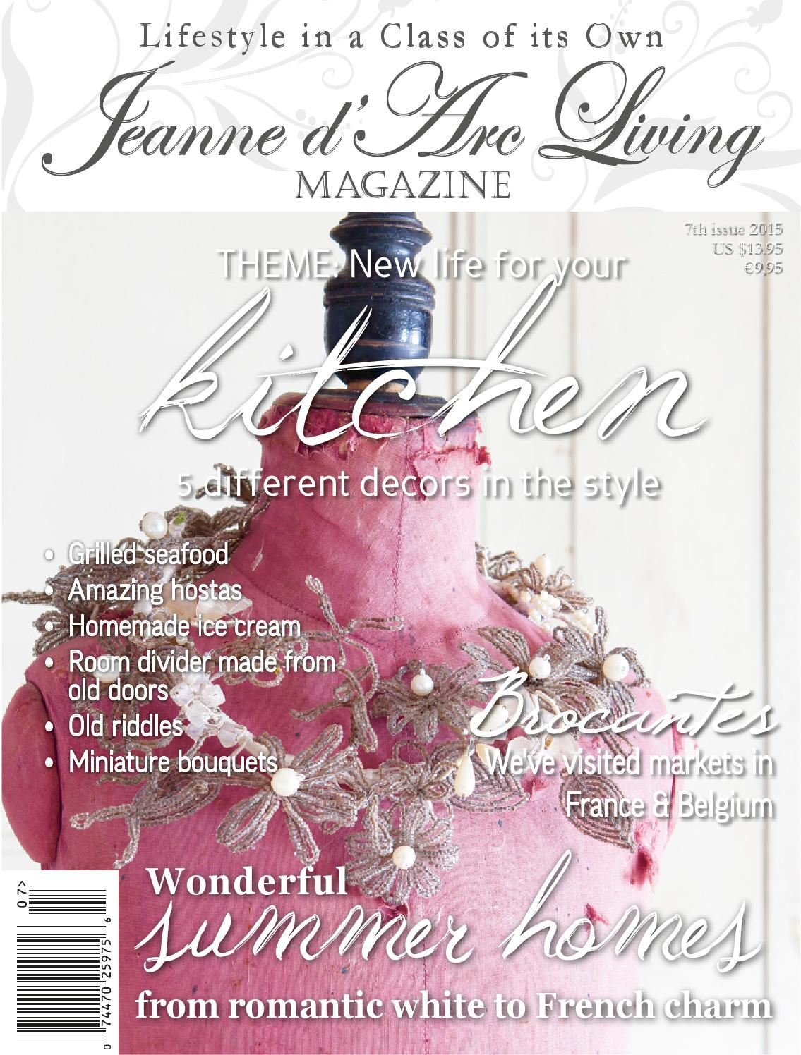 Jeanne D' Arc Living Magazine 7th Edition