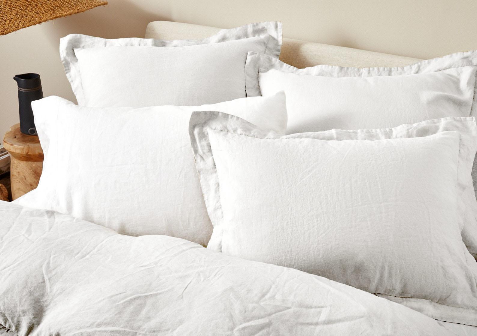 Organic Relaxed Linen Duvet Cover and Pillow Sham