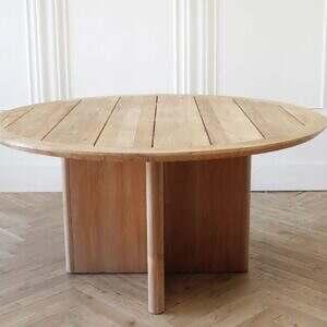 Round Teak Dining Table Balmain Collection