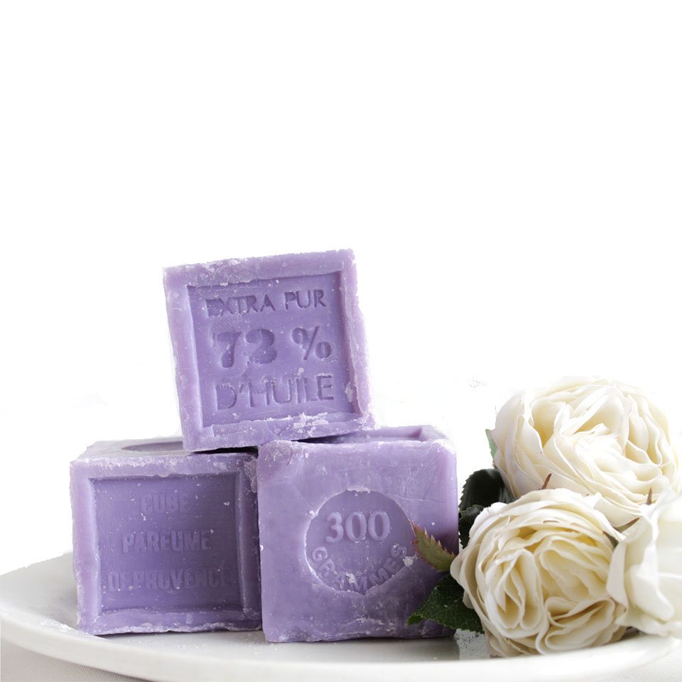 Lavender Savon de Marseille Olive Oil Soap Bars