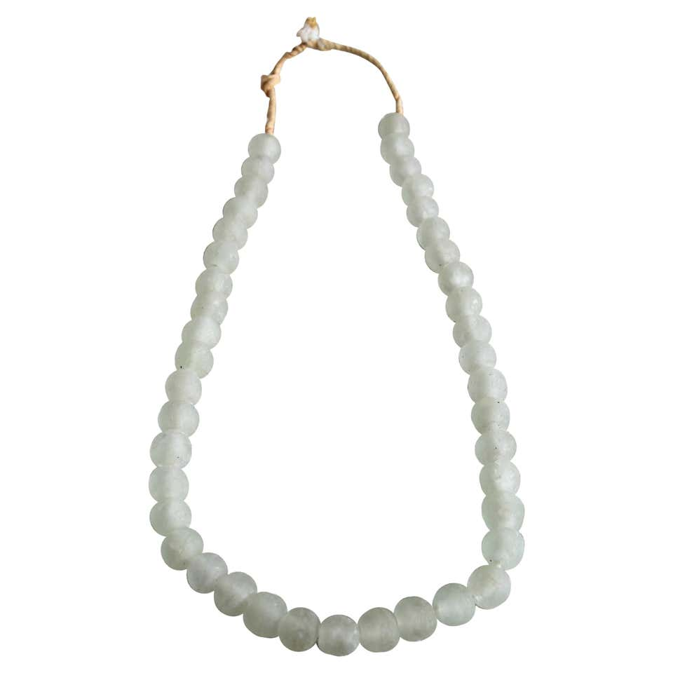 Light Sea Blue Glass Beads