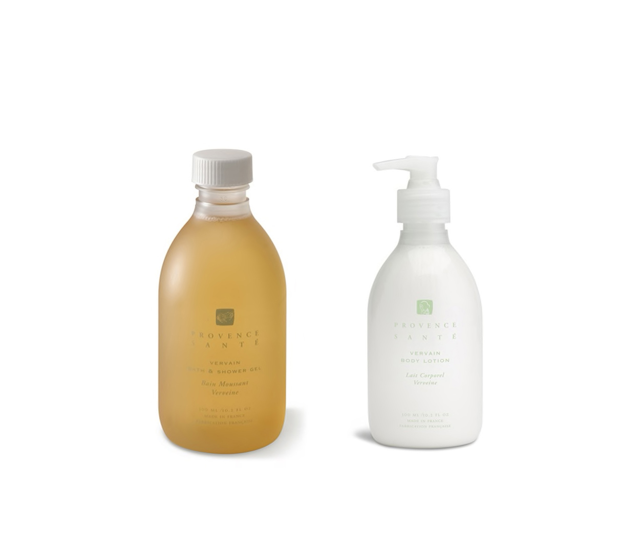 Vervain Body Lotion and Shower Gel