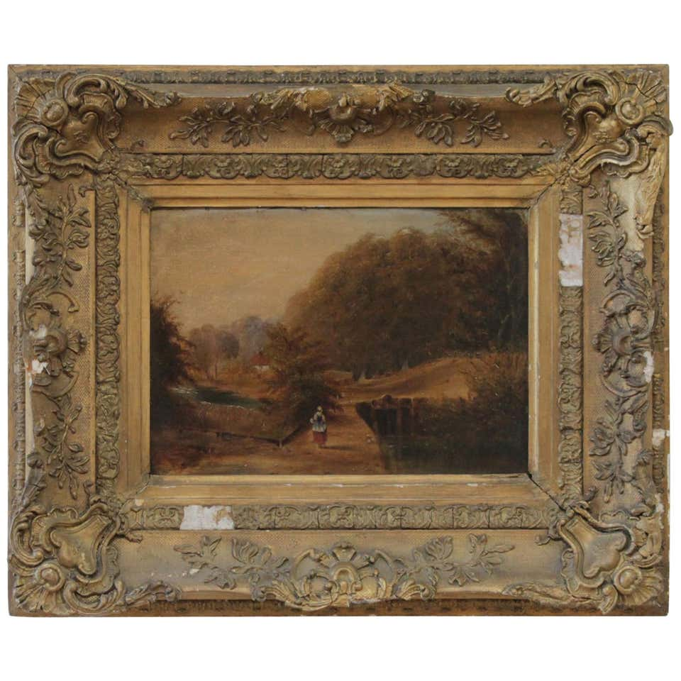 Roberson and Miller Oil on Canvas, circa 1835
