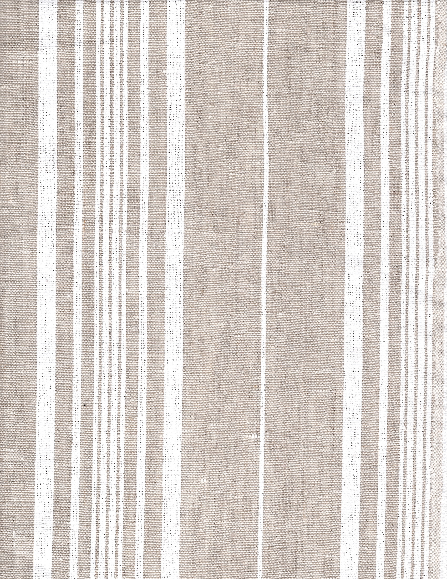 Natural French Ticking Stripe