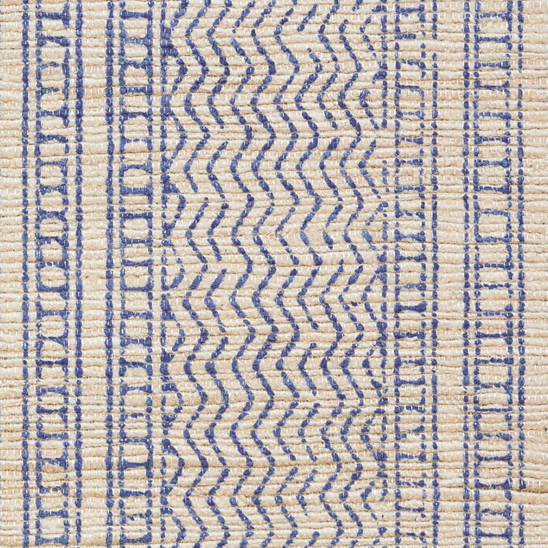 Mohave Indigo Silk By The Yard